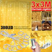 3M 300LED Curtain Fairy Hanging String Lights Wedding Party Home Decor | Home Accessories for sale in Nairobi, Karen