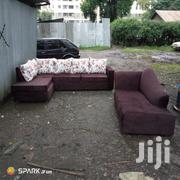 L Shape Seat With Sofabed | Furniture for sale in Nairobi, Ngara