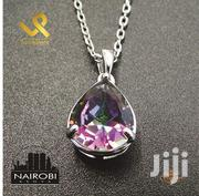 Mystic Topaz Ladies Sterling Silver Pendant and Necklace | Jewelry for sale in Nairobi, Nairobi Central