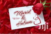 Wedding Card Graphics | Wedding Venues & Services for sale in Mombasa, Mji Wa Kale/Makadara