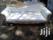 Marvelous Stylish Classic Quality Gold Antique 3 Seater Sofa | Furniture for sale in Nairobi, Ngara