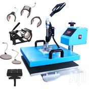 8 In 1 Combo Sublimation Heat Press T-shirt Printing Machine | Printing Equipment for sale in Nairobi, Nairobi Central