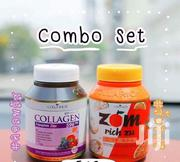 Colla Rich Collagen Set + ZOM Rich Zu - 1000mg. | Vitamins & Supplements for sale in Nairobi, Nairobi Central
