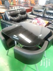 Classic Black 4 Seater Dining Table | Furniture for sale in Nairobi, Nairobi West