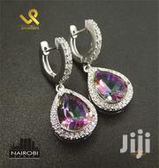 Ladies Mystic Topaz Genuine Silver Drop Earrings | Jewelry for sale in Nairobi, Nairobi Central