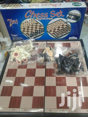 Checkers And Chess (2 In 1)
