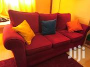 Three (3) Seater Fabric Sofa . | Furniture for sale in Mombasa, Mkomani