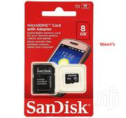 Sandisk 8gb Memory Card | Accessories for Mobile Phones & Tablets for sale in Nairobi, Nairobi Central