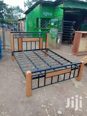 4by 6 Metallic And Wooden Bed | Furniture for sale in Nairobi, Nairobi South