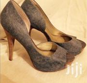 Jessica Simpson Denim Open Toe Heels | Shoes for sale in Nairobi, Mugumo-Ini (Langata)