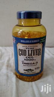 Cod Liver Oil 1000 MG 240 GM 50 Soft Gel Capsules Food Supplement   Vitamins & Supplements for sale in Nairobi, Nairobi South