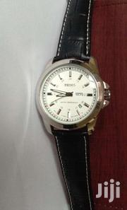 Gents Seiko Leather Watches With Day And Date Display At 3500ksh | Watches for sale in Nairobi, Nairobi Central