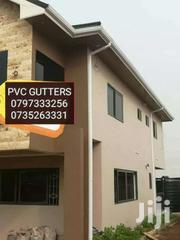 USE PVC RAIN GUTTER SYSTEM TO TAP YOUR WATER | Building Materials for sale in Nyandarua, Charagita