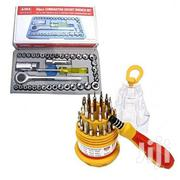 40 Pc Socket Wrench MINI Set + FREE Electron Magnetic Screwdriver Set | Hand Tools for sale in Nairobi, Nairobi Central