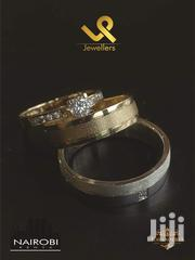 Custom Made Couples 18k Gold For Bride.Silver For Groom Wedding Ring | Jewelry for sale in Nairobi, Nairobi Central