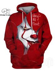 Plstar Cosmos Horror Movies Red Devil Halloween 3d Hoodies | Clothing for sale in Nairobi, Nairobi Central