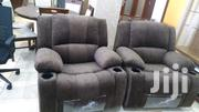 7 Seater Recliner Sofa With Cup Holders in Every Seat. | Furniture for sale in Nairobi, Kilimani
