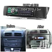 Single Din Car Radio Fascia For 2004 To 2010 BMW X3 (E83) | Vehicle Parts & Accessories for sale in Nairobi, Nairobi Central