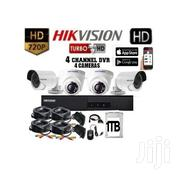 Four 4 Hikvision Complete CCTV Cameras System | Security & Surveillance for sale in Nairobi, Nairobi Central