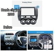 Double Din Car Radio Fascia For 2002-2006 Honda Jazz City Fit | Vehicle Parts & Accessories for sale in Nairobi, Nairobi Central