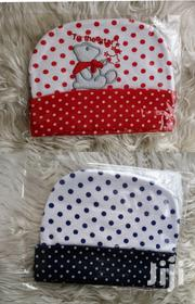 3pcs Cotton Polka Newborn Baby Caps | Babies & Kids Accessories for sale in Nairobi, Kasarani