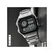 Skmei Top Brand Luxury Mens Business Silver 1335 | Watches for sale in Nairobi, Nairobi Central