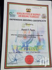 Driver CV | Driver CVs for sale in Nairobi, Umoja II