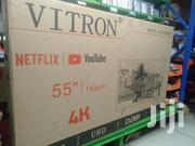 Vitron 55 Smart 4K Android Tv | TV & DVD Equipment for sale in Nairobi, Nairobi Central