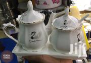 One Serving Teapot And Sugar Dish With Tray | Kitchen & Dining for sale in Nairobi, Nairobi Central