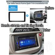2 Din Car Stereo Radio Fascia Ring For 2009 2010 2012honda Stream Fit   Vehicle Parts & Accessories for sale in Nairobi, Nairobi Central