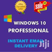 Windows 10 PRO Professional Genuine Key License Instant Delivery | Software for sale in Kiambu, Thika