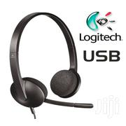 Logitech H340 USB Headset With Noise-cancelling Mic | Headphones for sale in Nairobi, Nairobi Central