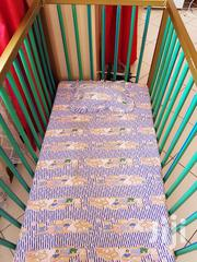 Metal Baby Cot With Fitted Mattress And Free Bedsheet | Children's Furniture for sale in Nairobi, Nairobi South