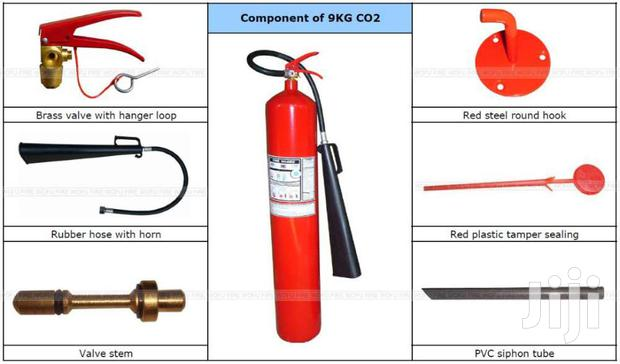 Fire Extinguisher Spares E.G. Horns Seals Safety Pins Deliver Install
