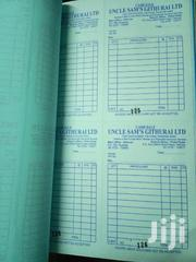 Design And Print Receipt Books, Invoices, Delivery Notes, Cashsale | Other Services for sale in Nairobi, Nairobi Central