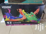 Vision Plus 43inches Smart Curved Android TV Full HD | TV & DVD Equipment for sale in Nairobi, Nairobi Central