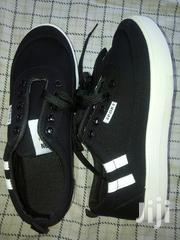 Flat Black,Blue N White Canvas | Shoes for sale in Mombasa, Junda