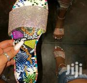 Ladies Diamond Transparent Slippers | Shoes for sale in Mombasa, Bamburi