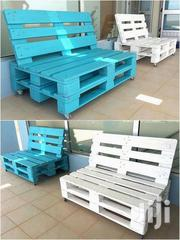 Durable Modern Quality 4 Seater Outdoor Pallet Sofa | Furniture for sale in Nairobi, Ngara