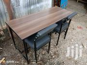 Metal & Wood Table And Chairs | Furniture for sale in Nairobi, Ngando