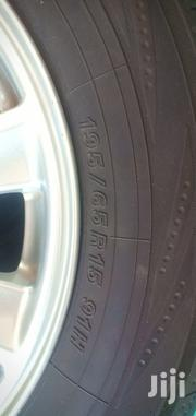 """15"""" 5 Holes Alloy Wheels Plus Tyres 