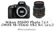 Nikon D5600 With 18-55mm Lens | Photo & Video Cameras for sale in Nairobi, Nairobi Central