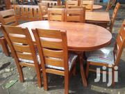 Oval Mahogany Dining Table | Furniture for sale in Nairobi, Nairobi South