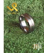 Beveled Edges Men Tungsten Carbide Wedding Band Ring | Jewelry for sale in Nairobi, Lower Savannah