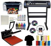 Vinyl Cutter/Plotter, 5 In 1 Heat Press & Sublimation Printer Package | Printing Equipment for sale in Nairobi, Nairobi Central