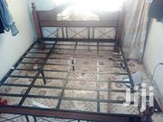 Metal 6 By 6 King Size Bed Quick Sale | Furniture for sale in Nairobi, Embakasi