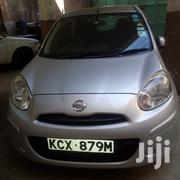 Nissan March 2013 Silver   Cars for sale in Mombasa, Shanzu