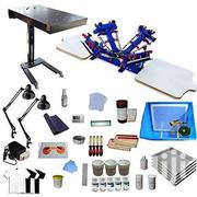4 Color 2 Station Screen Printing Full Starter Kit | Computer & IT Services for sale in Nairobi, Nairobi Central