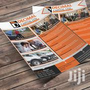 Businesses Marketing Flyer Graphic Design | Other Services for sale in Nairobi, Nairobi Central