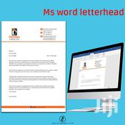 Business Letterhead In Word Document Or Pdf Graphic Design | Other Services for sale in Nairobi, Nairobi Central